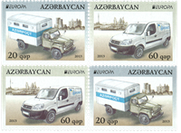 Azerbaijan - EUROPA 2013 - Mint set from booklet