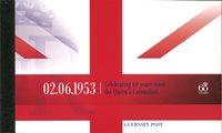奥尔德尼岛 - 加冕周年 - 精美小册 新票