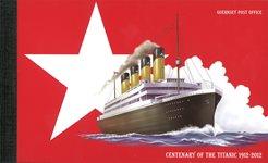 Aurigny - Centenaire du Titanic - Carnet de prestige neuf