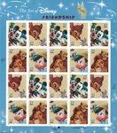 USA - Disney, ystävyys - Postituore arkki