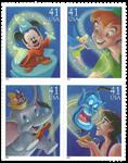 USA - Disney Magi - Postfrisk sæt 4v