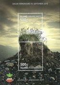 冰岛, 邮票日, 火山