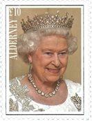 继位最长的君主英国女王伊丽莎白二世 套票一枚 - 小型张