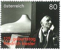 奥地利著名建筑师,雕塑家希·基斯勒