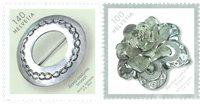 Schweiz - Smykker fællesudgave med Åland - Postfrisk sæt 2v