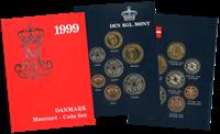 Danmark  møntsæt 1999 - Ikke specificeret