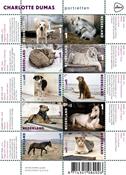 Pays-Bas - Portraits d'animaux - Bloc-feuillet neuf