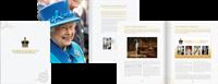 Jersey - Dronning Elizabeth længst regerende monark - Flot bog