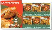 Albanie - Europa 05, Gastronomie - Carnet neuf