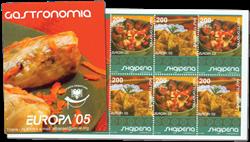 Albanien - Europa 2005 - Postfrisk hæfte