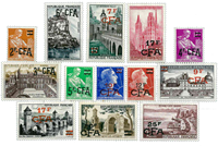 La Réunion - YT nr. 331-341 postfrisk