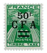La Réunion - YT Taxe no 44 neuf