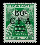 La Réunion - YT portomærke nr. 44 postfrisk