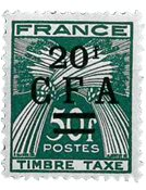 La Réunion - YT Taxe no 43 neuf