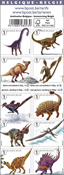 Belgique - Dinosaures - Carnet neuf
