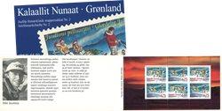 Groenland - Carnet de timbres Noël - Y&amp,T no C292a