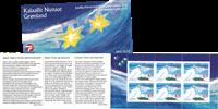 Groenland - Carnet de timbres Noël - Y&T no C353