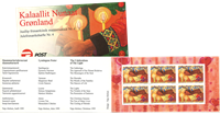 Groenland - Carnet de timbres Noël - Y&T no C322