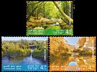 Israel - Floder - Postfrisk selvkl. sæt