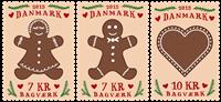 Danmark - Bagværk - Postfrisk sæt 3v