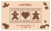 Danemark - Gâteaux au miel - BLoc-feuillet neuf