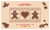 Danmark - Bagværk - Postfrisk miniark