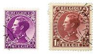 Belgique 1934 - Oblitéré - OBP 391+393