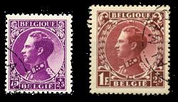 Belgien 1934 - OBP 391+393 - Stemplet