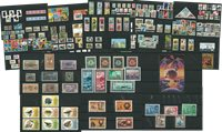 Worldwide - Stamps from 50 different countries