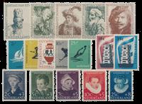 Holland årgang 1956 - Postfrisk