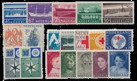 Holland årgang 1957 - Postfrisk