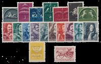 Holland årgang 1943 - Postfrisk