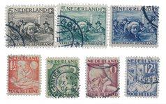 Pays-Bas - Année 1930- Oblitéré