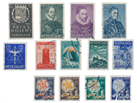 Pays-Bas - Année 1933- Oblitéré