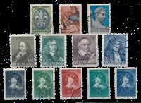 Pays-Bas - Année 1937- Oblitéré