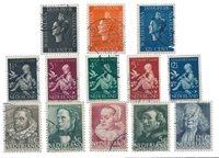 Nederland - 1938 - Gebruikt