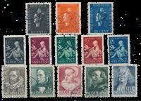 Pays-Bas - Année 1938- Oblitéré