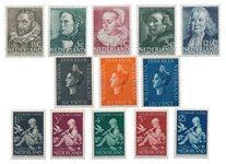 Pays-Bas - Année 1938- Neuf