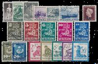 Holland Årang 1950 - Stemplet