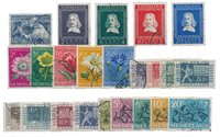 Pays-Bas - Année 1952- Oblitéré