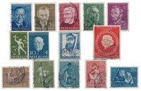Pays-Bas - Année 1954- Oblitéré