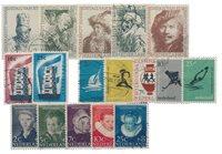 Pays-Bas - Année 1956- Oblitéré