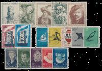 Holland årgang 1956 - Stemplet