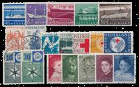 Pays-Bas - Année 1957- Oblitéré