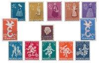 Pays-Bas - Année 1958- Oblitéré