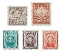 Holland årgang 1924 - Postfrisk