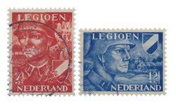 Hollanti - Vuoden 1942 - Leimattu