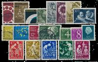 Pays-Bas - Année 1962- Oblitéré