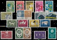 Pays-Bas - Année 1964- Oblitéré