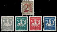Holland 1929 - Årgang - Ubrugt